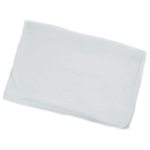 INFANTS PLAIN WHITE RECEIVING WRAP: BW610-W