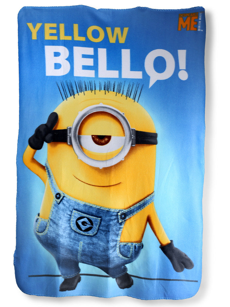 Minions Yellow Bello Fleece Blanket 720-148