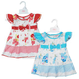 NEW Baby Girls Pleated Dress W/Pants - Flowers - 6-24 Months (7505)