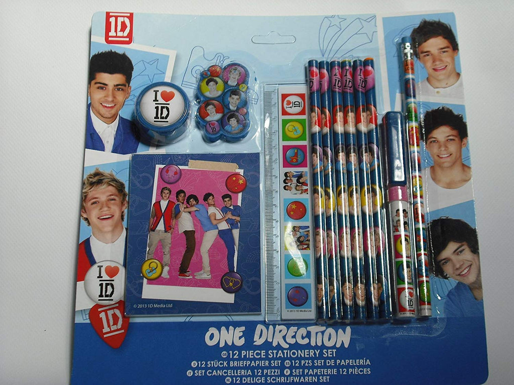 ONE DIRECTION - 12pc STATIONARY SET (One-S13-644)