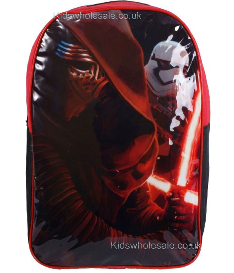Star Wars Kylo Ren Large Backpack 41x31 - Kidswholesale.co.uk