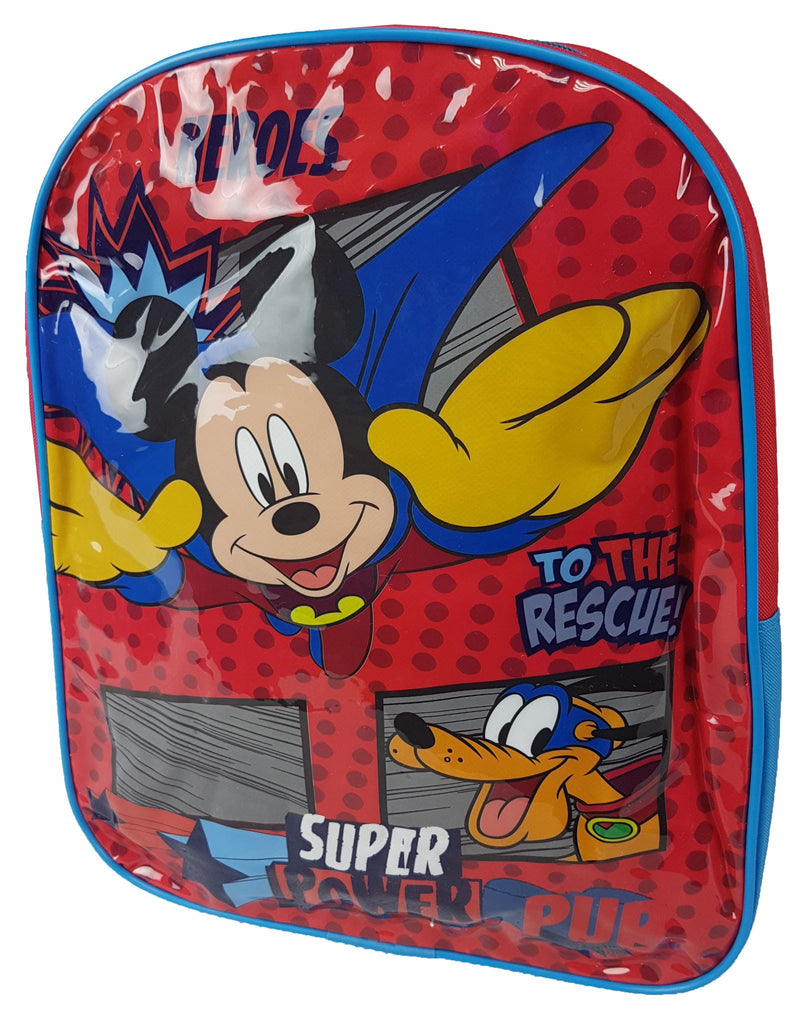 Mickey Mouse Heroes Medium Backpack 31x25 - Kidswholesale.co.uk
