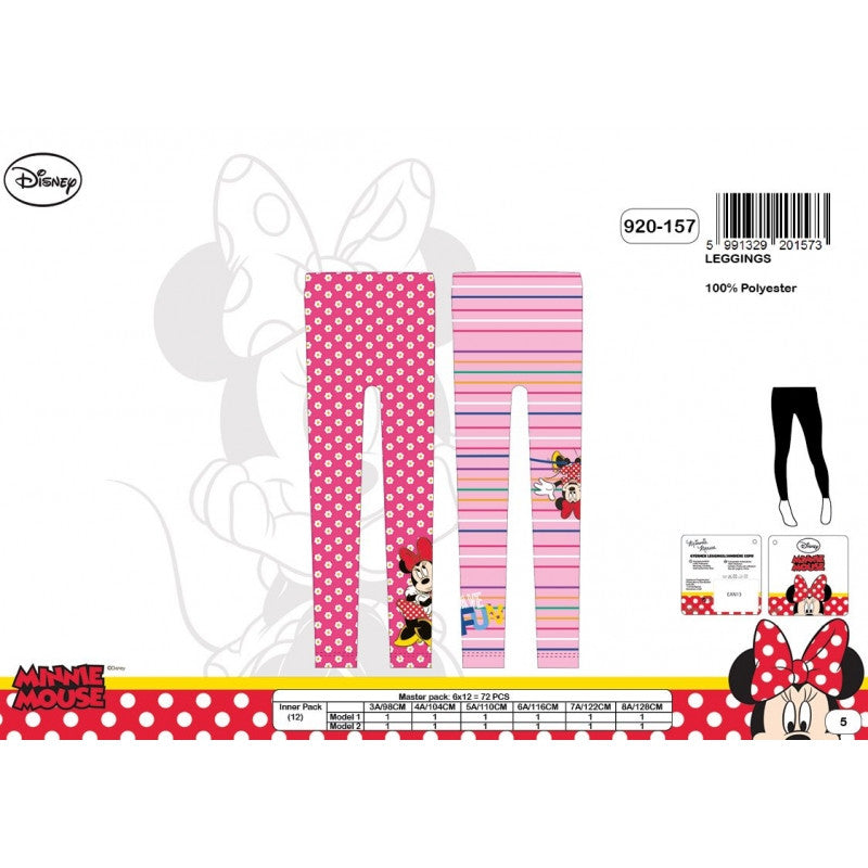 Official Minnie Mouse Character Leggings