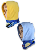 MINIONS FLEECE SNOOD WITH HOOD - 770-954