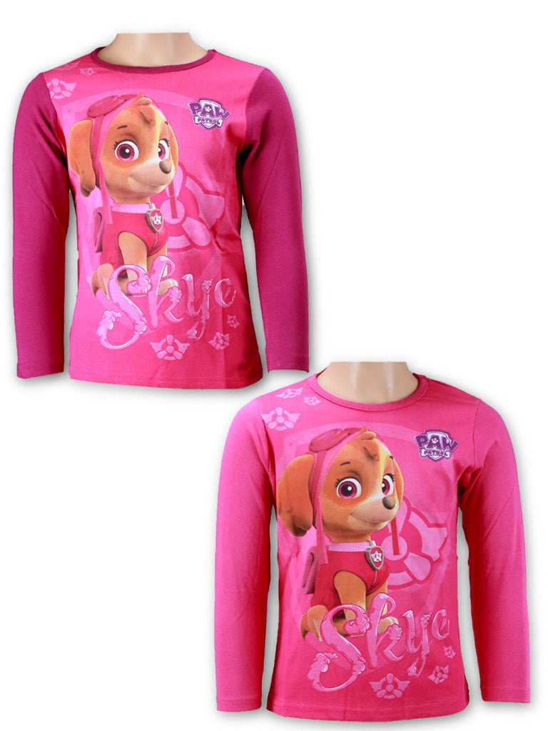 Paw Patrol Girls Round Neck Long Sleeve T-shirts 2-6 Years (961-532)