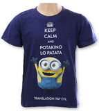 Minions Boys Pirate and Keep Calm T-Shirt 4-10 Years (961-827)