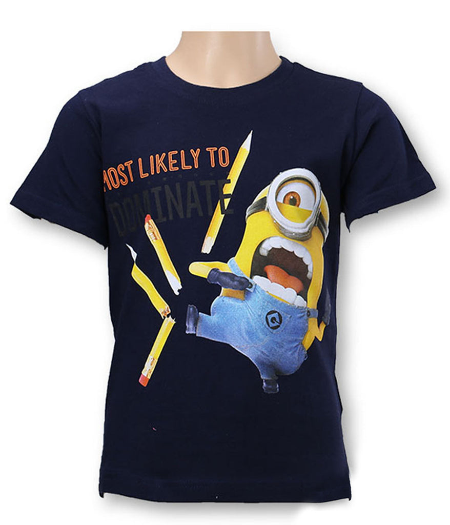 Boys Minions Karate and Peek T-Shirt 4-10 Years (961-828)
