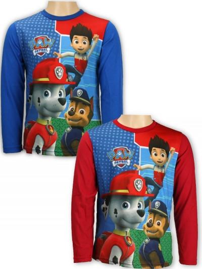 Boys Paw Patrol Long sleeveT-shirts 2-6 years (962-014)