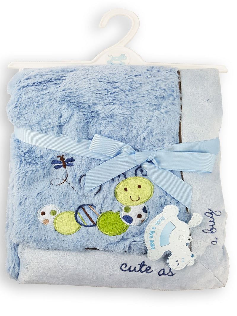 Cute As A Bug Bay Supper Soft Blanket - Kidswholesale.co.uk
