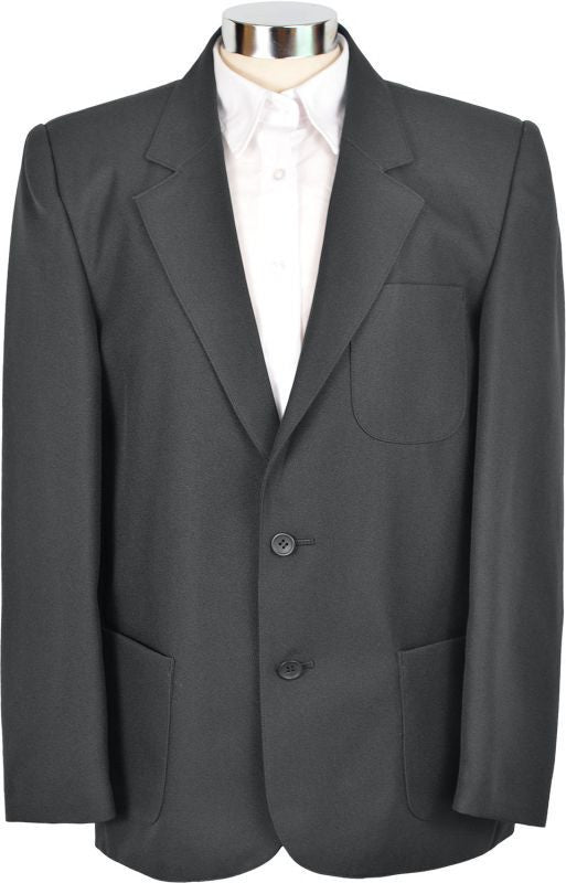 Boys Black Teflon School Blazer