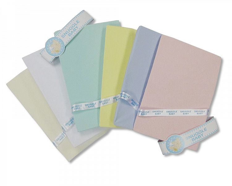 COTTON FITTED COT-BED SHEET
