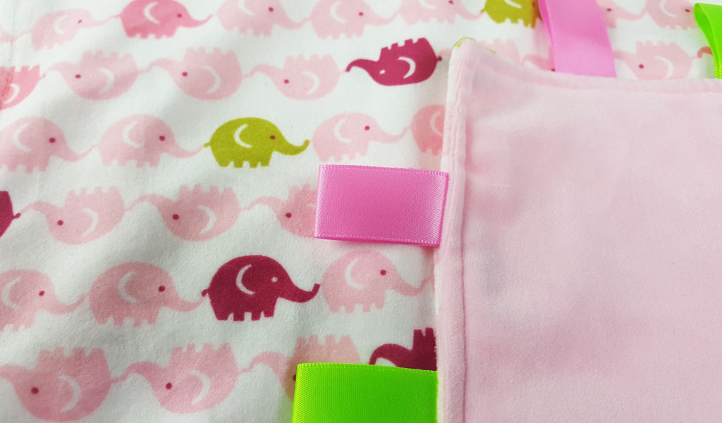 Printed Flannel Baby Comforter: BC17