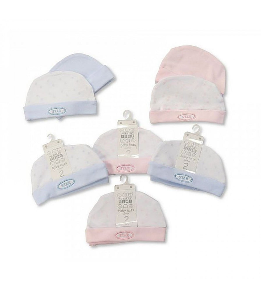 Baby Hats - Star - Packs of 2