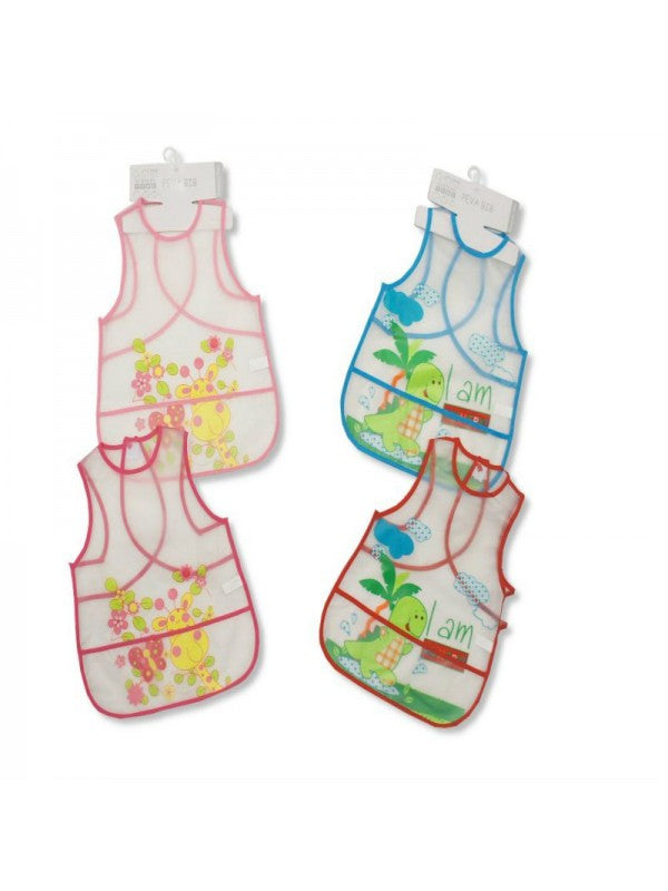 Baby Large Clear PEVA Bibs