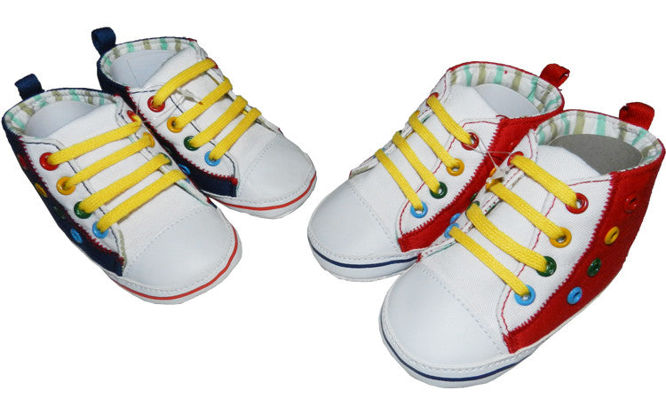 Boys Coloured Pull Up Shoes