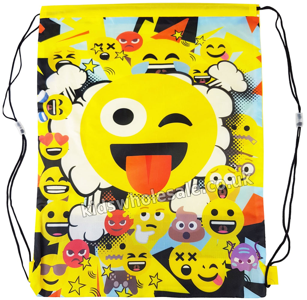 WOW Emoji Shoe/Pull String Bag 41x30 (1101E-6586)
