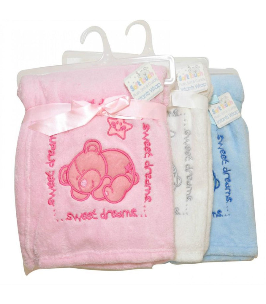 SOFTTOUCH BABY FLEECE PRAM WRAP FBP-44