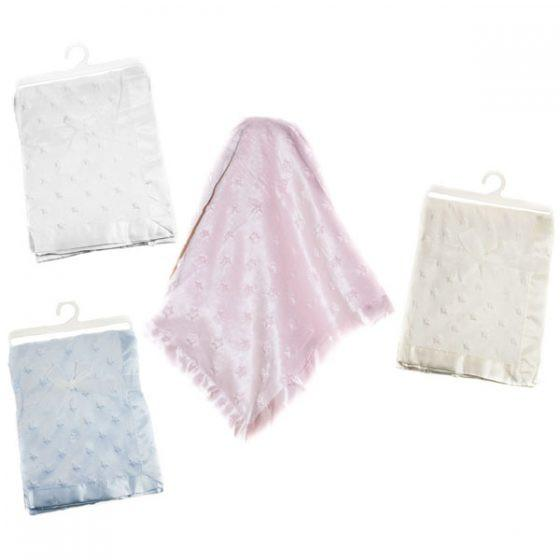 Stars Double Layer Mink Wrap (FBP128) - Kidswholesale.co.uk