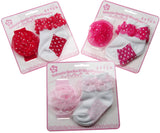 Infant Socks and Headband Set