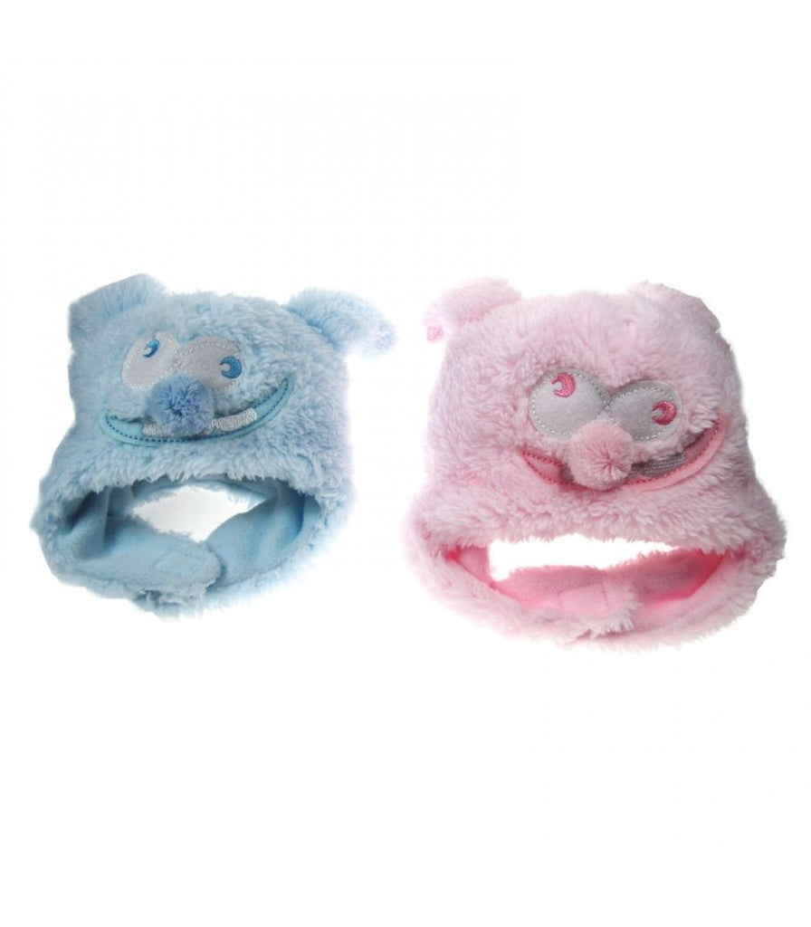 Plush Hat - Baby Pink/baby Blue