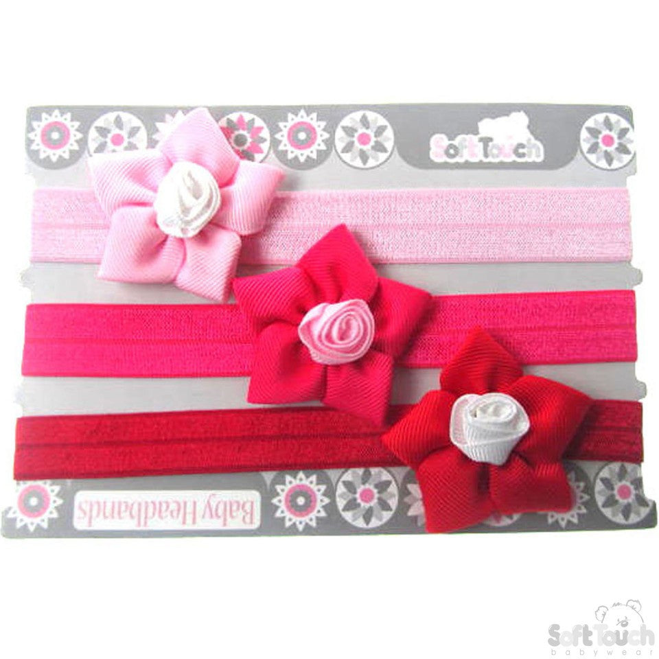Flower Bow Headbands -HB67