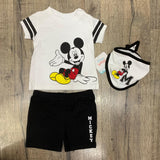 BABY DISNEY 'MICKY MOUSE' SHORTS SET (0-12 MONTHS) S19109