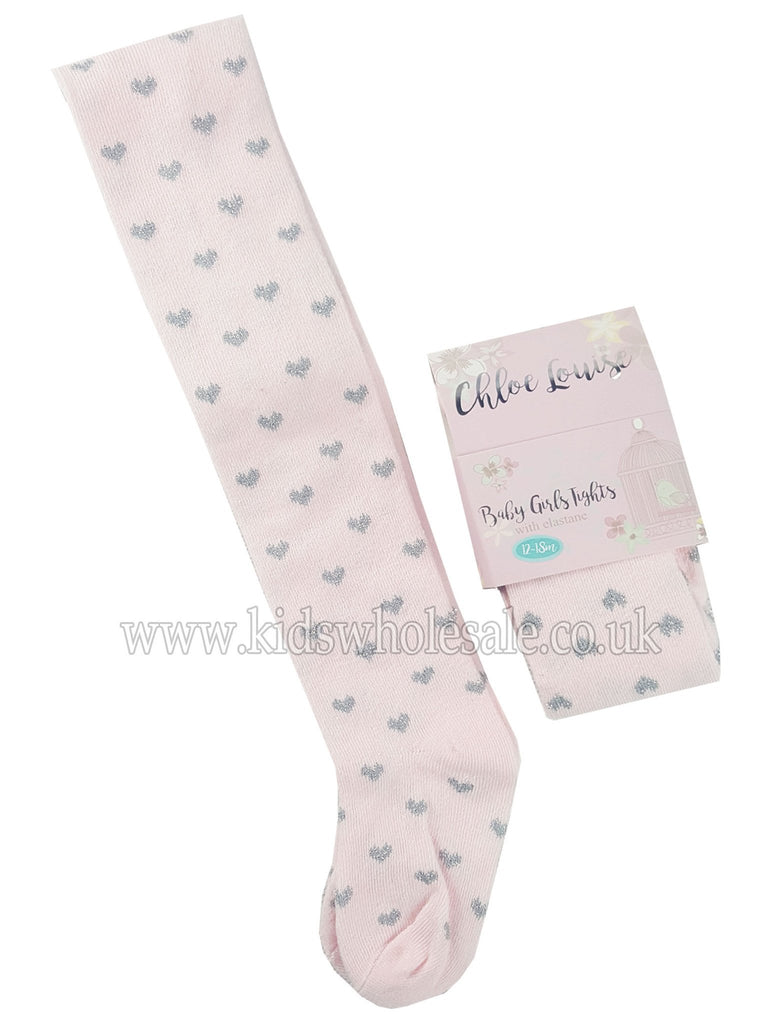 Pink Baby Girl Tights (K12116)
