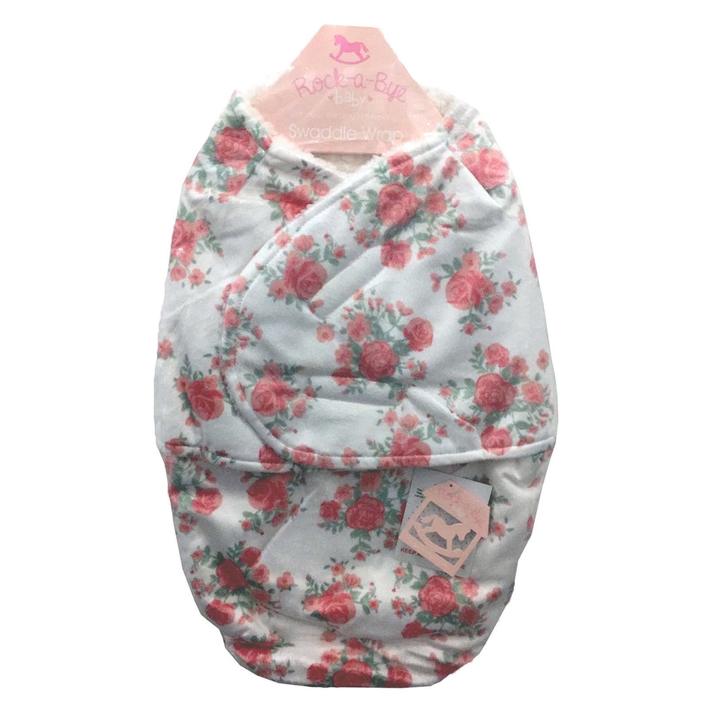 Baby Swaddle Bag - Roses - One size/0-3 Months - M14231
