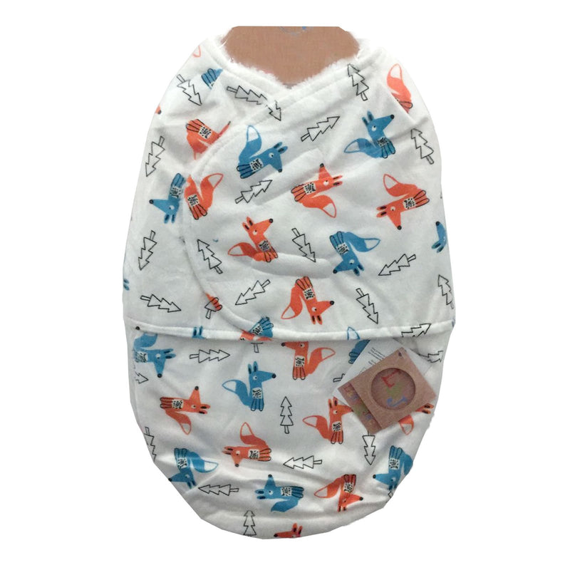 Baby Swaddle Bag - Foxes - One size/0-3 Months - M14232 - Kidswholesale.co.uk