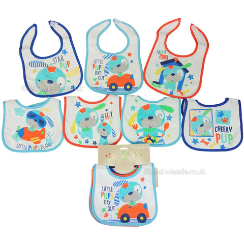 Baby Boys 7Pc Net Bag Gift Set - Little Bear - NB-6 Months (K12857)
