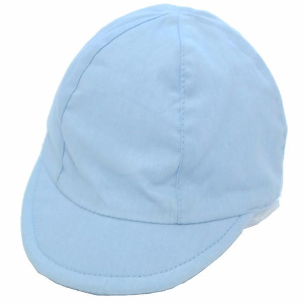 Baby Boys Plain Cotton Cap  6-18m (M40501)
