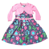 Gils Floral Dress with Bolero (2-7yrs) P16386