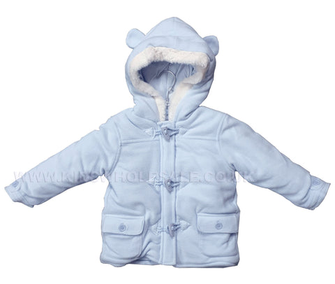 Baby Girls 3pc Jacket, Top & Legging Set - Swan - 0-9M (Q17079)