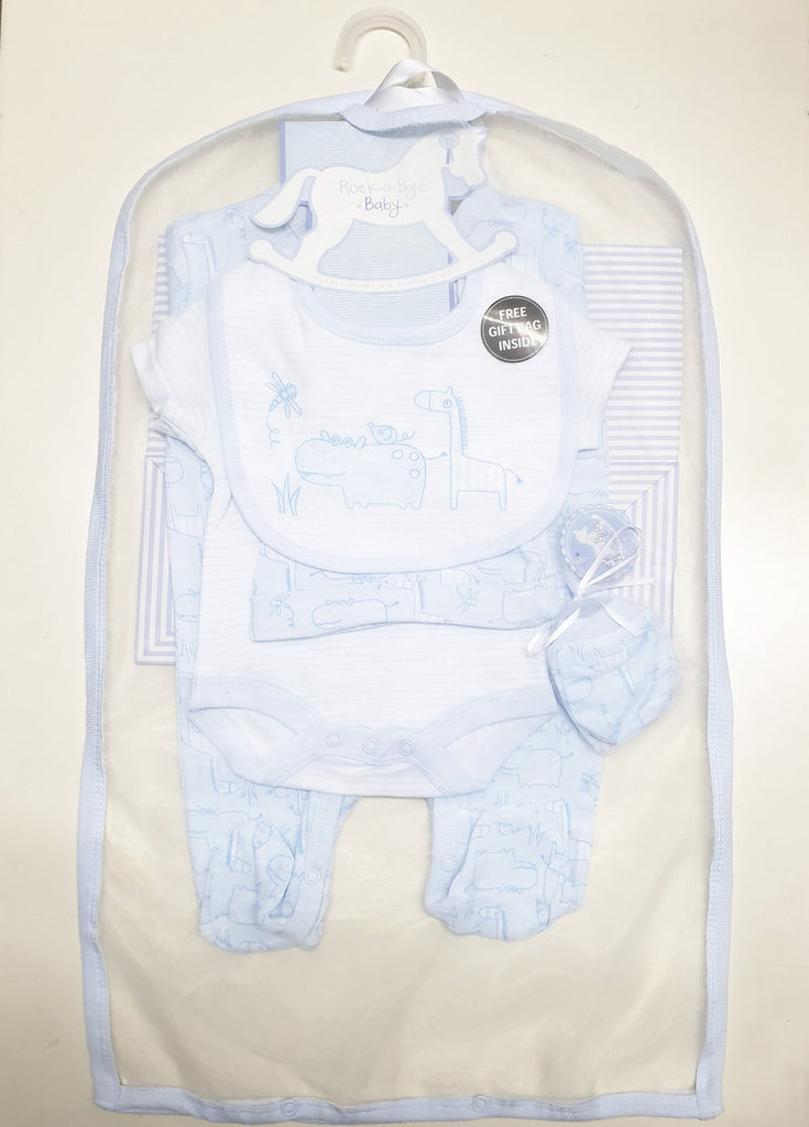 Baby Boys Animals 6 Piece Net Bag Gift Set (NB-6 Months) R17994