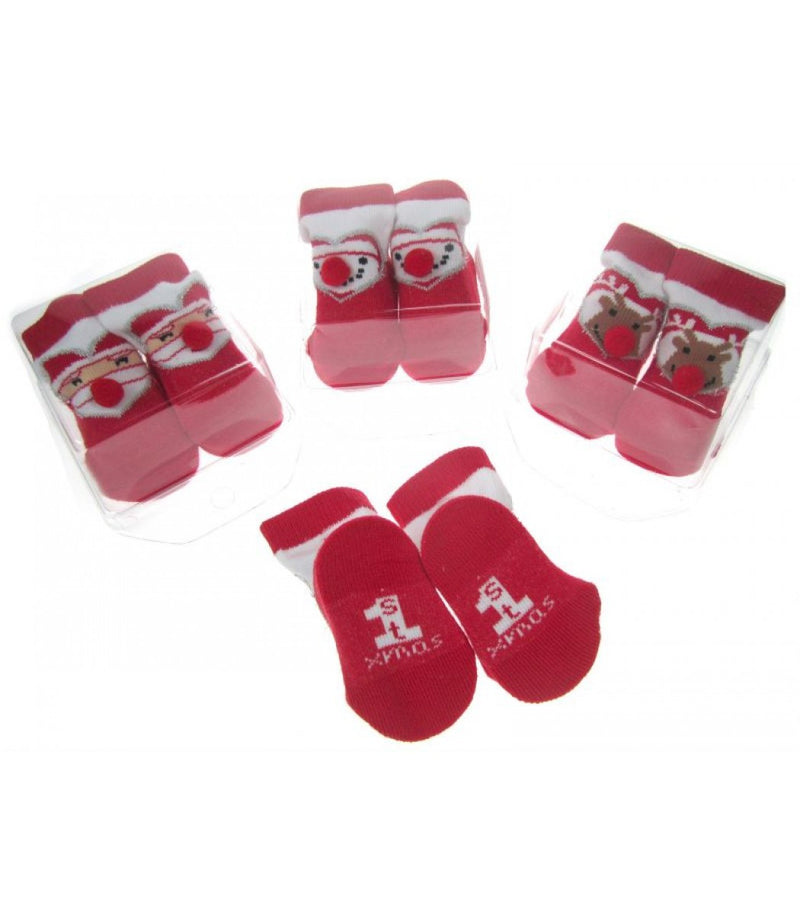 XMASS BABY SOCKS