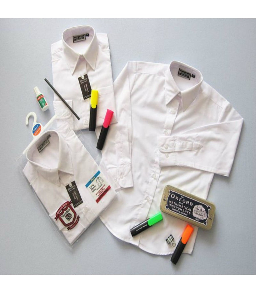 BOYS LONG SLEEVED SHIRTS (SIZES 14.5-16.5)