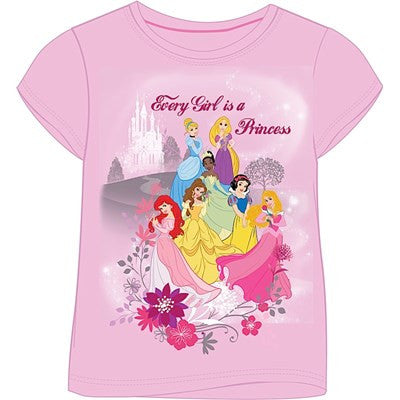 GIRLS PRINCESS T-SHIRT