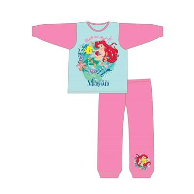 GIRLS TODDLER THE LITTLE MERMAID S/F PJS(Z01_24829)