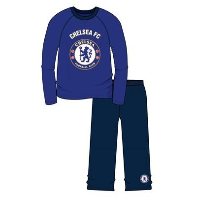 Older Boys L/S Heatseal PJs - Chelsea FC - 4/10 Years (Z01_24956) - Kidswholesale.co.uk