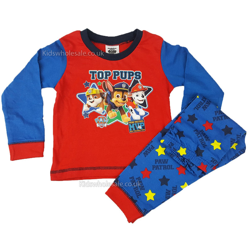 Baby Boys Paw Patrol Pyjama 6-24 Months (Z01_27513) - Kidswholesale.co.uk
