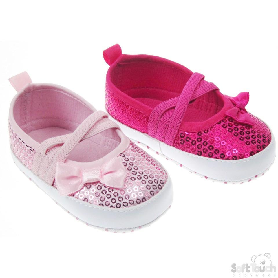GIRLS SEQUIN SHOES (B2014)