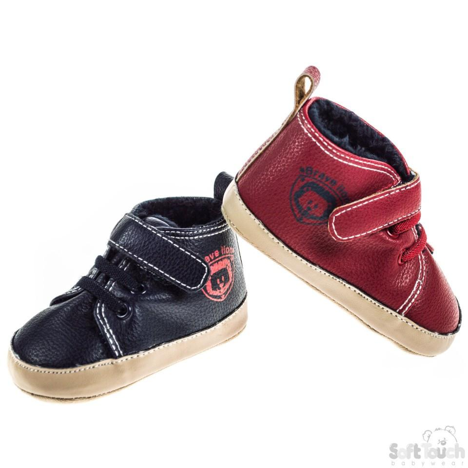 BOYS PU TRAINERS: B2098