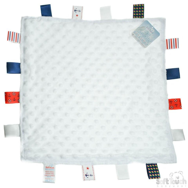 Bubble Style Baby Comforter W/Taggies - 4 Colours - BC15 - Kidswholesale.co.uk