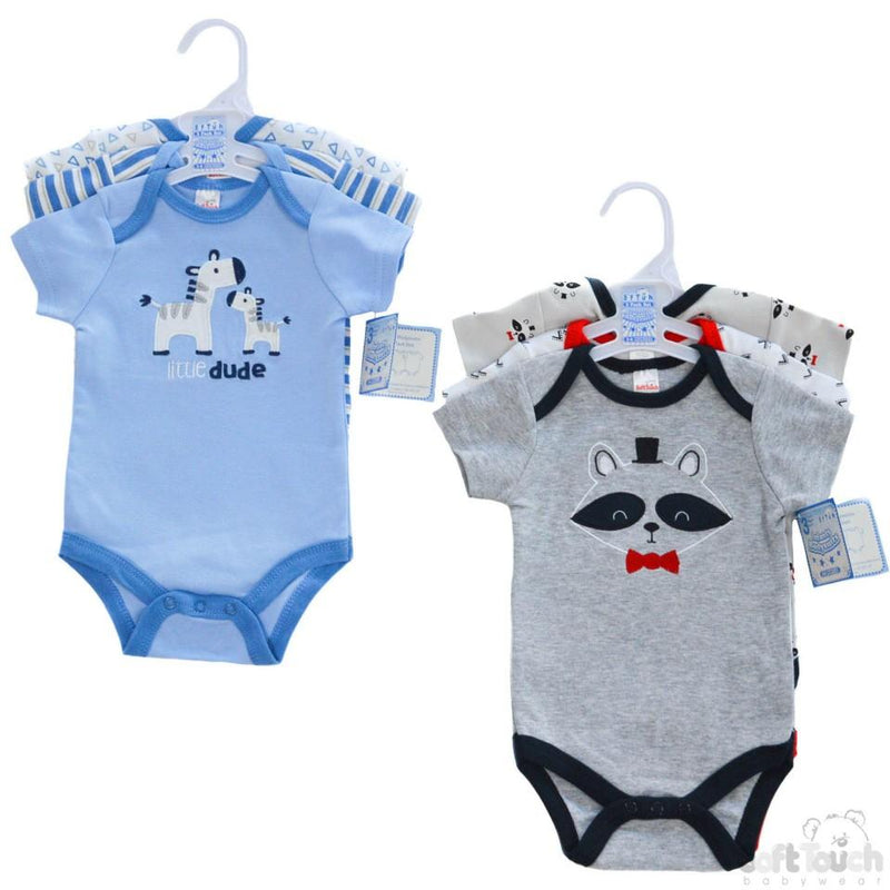 BOYS 3 PACK BODYSUITS: BG46 - Kidswholesale.co.uk