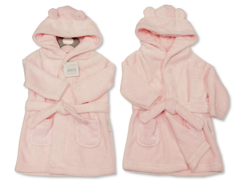 Supersoft Baby Dressing Gown/ Robe -Pink (3-24m) BIS-2020-2345