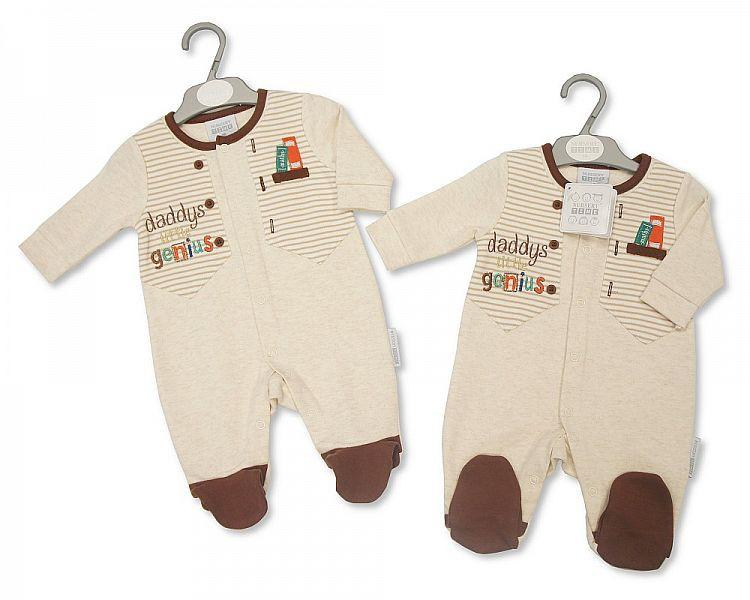 Baby Boys All in One - Daddy's Little Genius (Bis 2025-1612)