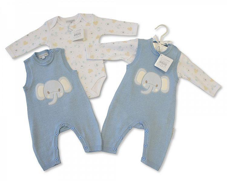 Baby Knitted Romper 2 pcs Set - Boys (Bis 2026-1736s)