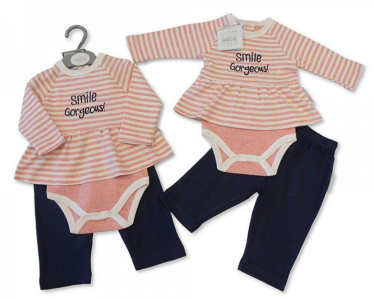 Baby Girls 2 pcs Set - Gorgeous (BIS2026-1739)