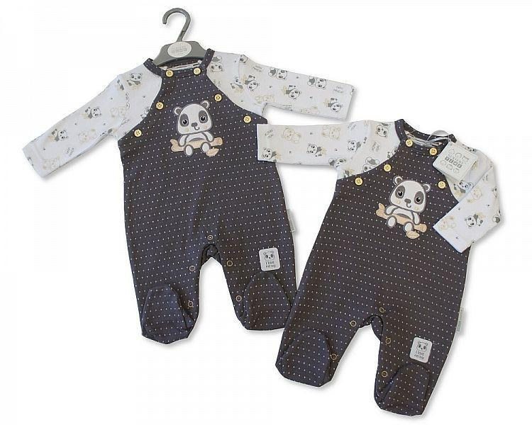 Baby Boys All in One - Panda (Bis 2026-1749 )