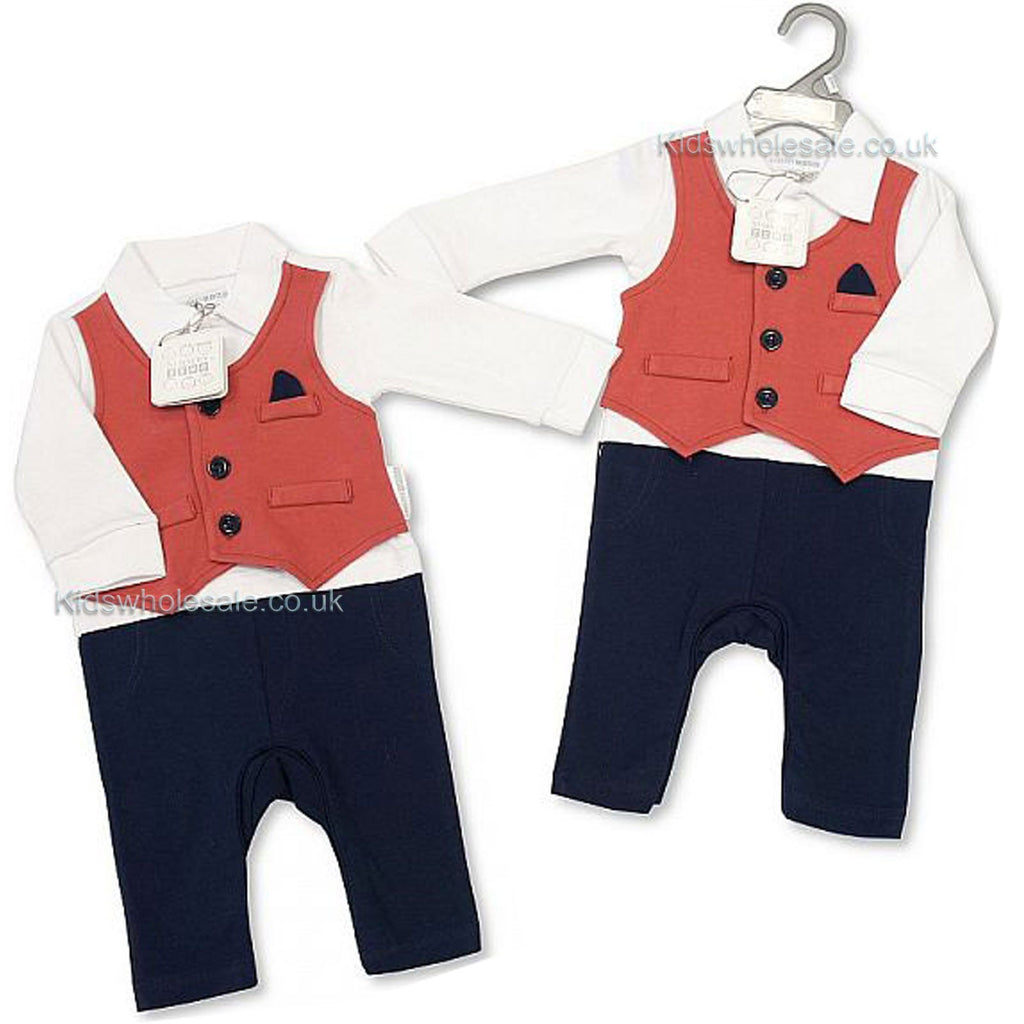 Baby Boys All in One - Smart 0-9 Months (Bis 2027-1888)